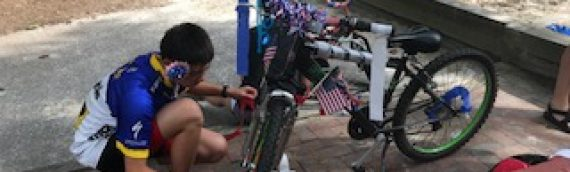 Pre-4th of July Bike and Trike Decorating Party
