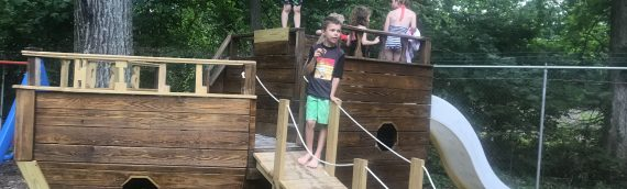AHOY Mateys – New Playground Equipment!